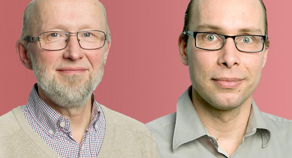 Anders Montelius and Tufve Nyholm